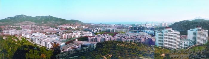 青岛科技大学崂山校区全景2